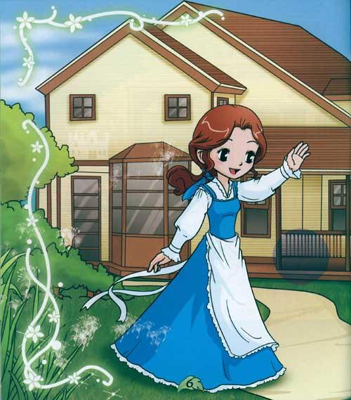 美女与野兽的互动游戏/宝贝第一动手益智童话第二辑
