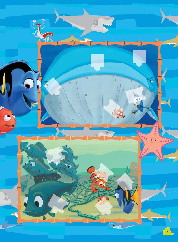 迪士尼n次贴纸书海底总动员