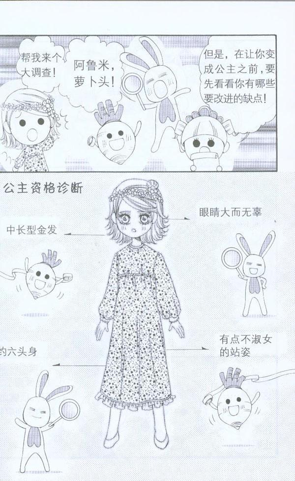 > 我要画公主   序章想变公主的少女 第1章 公主的类型 第1种类型小