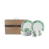 HOFTEN(赫芬) 热带丛林12头陶瓷套装 DU12-180903-1