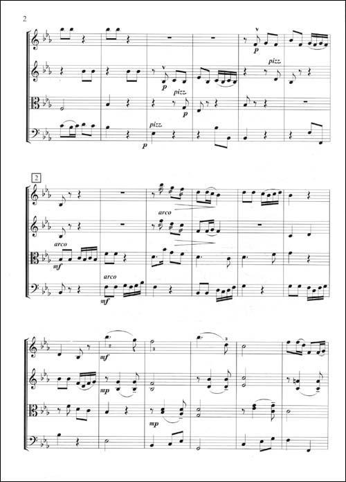 中国风格弦乐四重奏曲集
