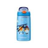 康迪克  2443-HBC-GIZ026小發明家兒童保溫吸管杯-小飛行員400ML