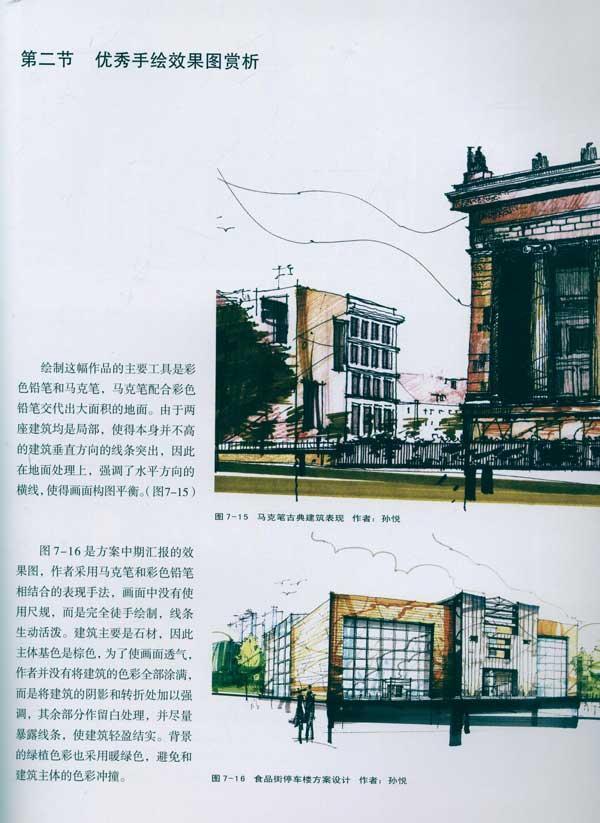 设计表现技法丛书 手绘建筑表现效果图
