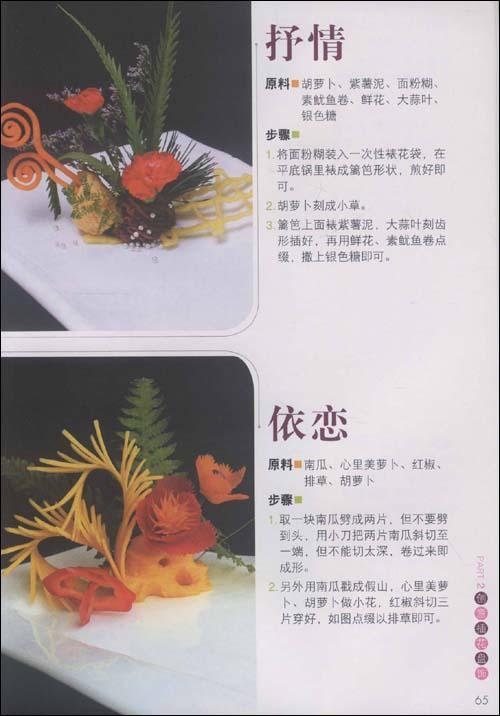果酱画虾盘饰步骤