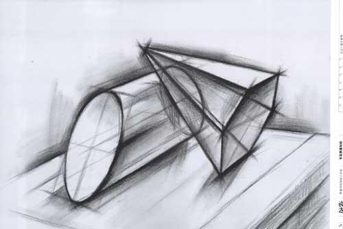 组合几何体结构素描范本 刘军 艺术 书籍
