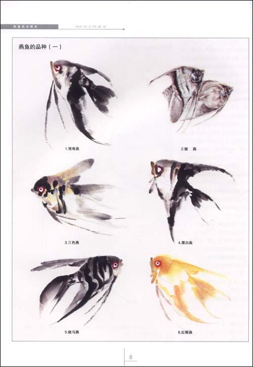画鳜鱼的方法与步骤