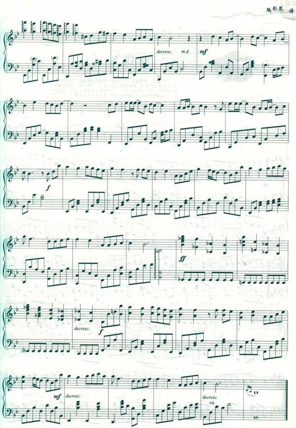 kisstherain 11.钢琴课 12.碟中谍 13.阿甘正传 14.卡农 15.tear 16.
