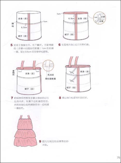 6片裙结构图