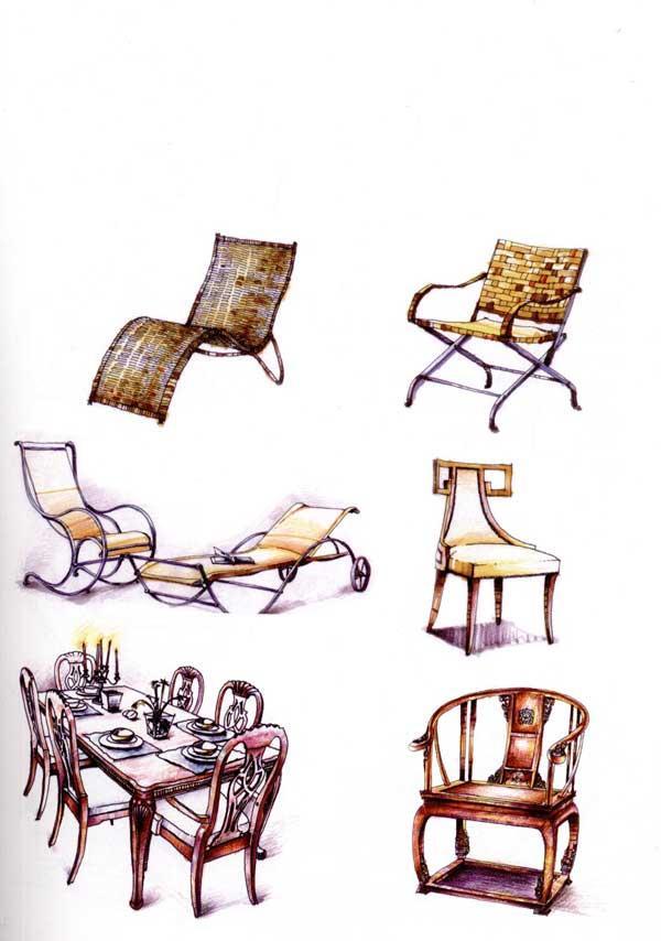 室内设计手绘表现教程-刘日端