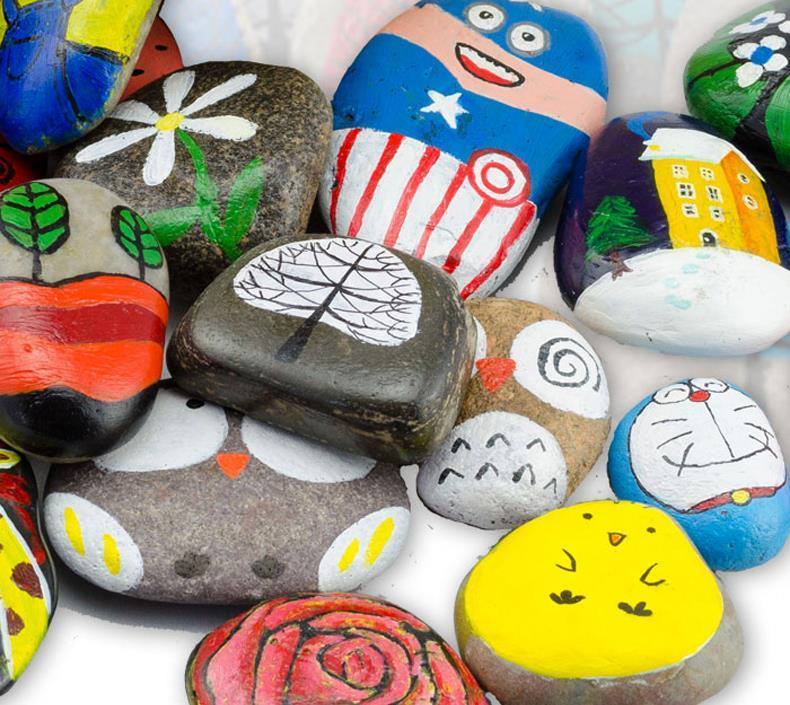 石头彩绘好有趣 漫果编 艺术 书籍