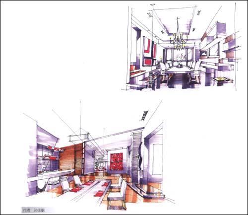 室内手绘表现技法概述
