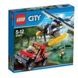 2015新款 正品 LEGO 乐高 城市系列 L60070 水上飞机追击 早教