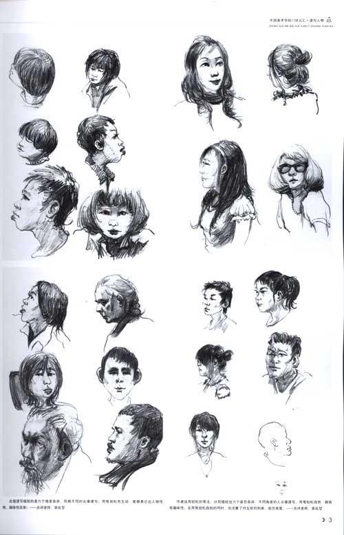 高考美术辅导 简笔画