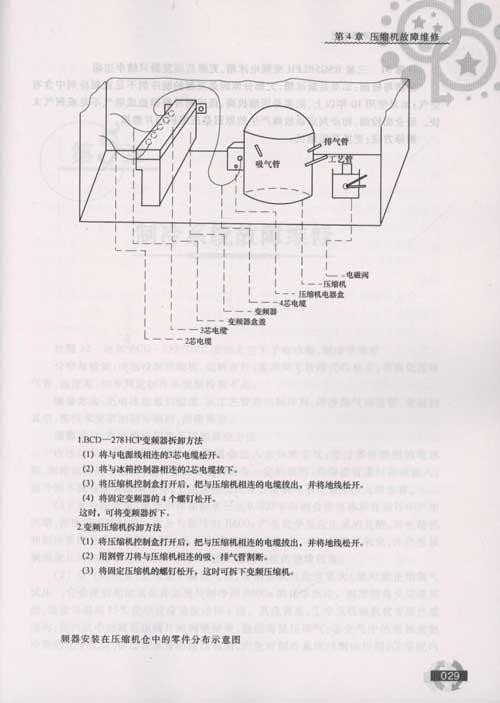 美菱bcd221l电路图