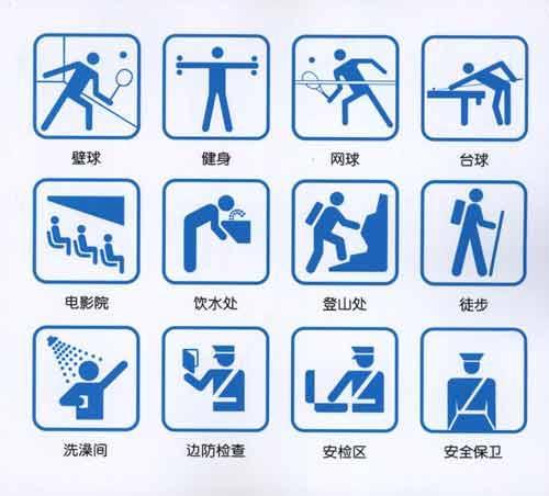 残疾人专座,孕妇专座,母婴专座,老人专座,入口,出口,安全出口,阅览室