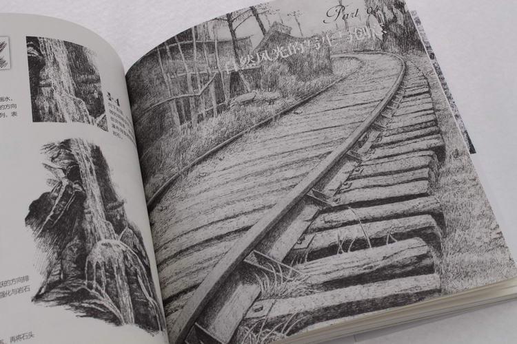 黑白画意——自然风景写生与创意教程 左登松 艺