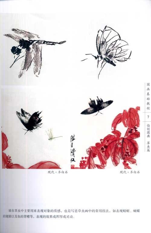 花鸟画临创图典/国画基础教程(草虫篇)