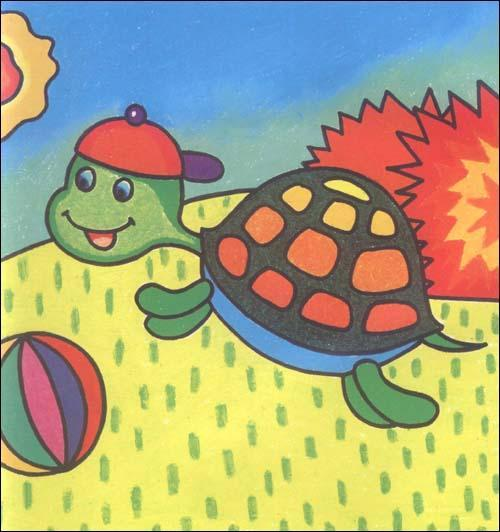 人物形象; 一起来画画少儿美术系列丛书:油画棒画