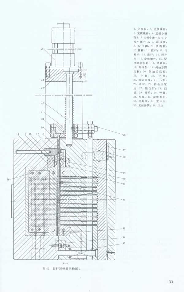 注塑模具复杂结构100例