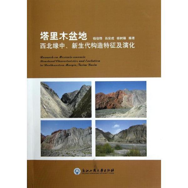 塔里木盆地(西北缘中新生代构造特征及演化)-钱俊锋
