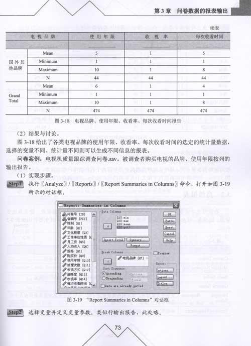例说SPSS统计分析-孙艳玲何源李阳旭-专用软广告设计专业大学图片