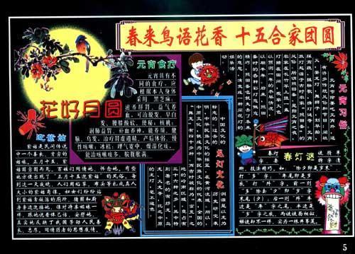 彩色板报墙报宣传栏 庆祝节日 第2版