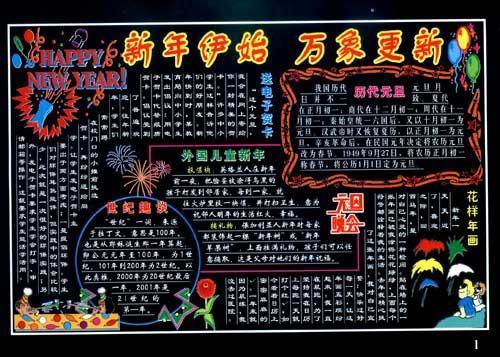 彩色板报墙报宣传栏/庆祝节日(第2版)--平面设计-软件包括彩色平面