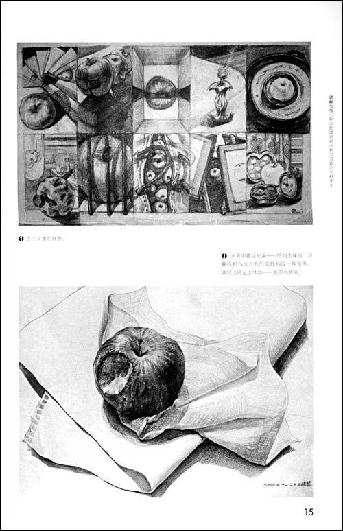 矛盾联想 第五章素描中的塑造与表现